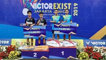 Pebulu Tangkis Basel Juara Victor Exist Jakarta Junior Internasional Series
