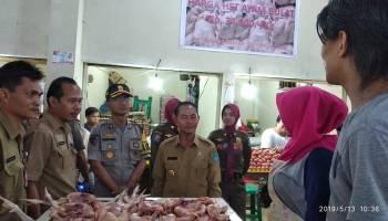 Pedagang Keluhkan Kondisi Pasar Kite Sungailiat yang Panas