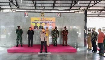 Peduli Dampak Covid-19, Polres Bangka Bagikan 600 Paket Sembako