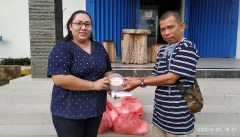 Peduli dengan Insan Pers, PT. BAA Berikan Bantuan Paket Lebaran