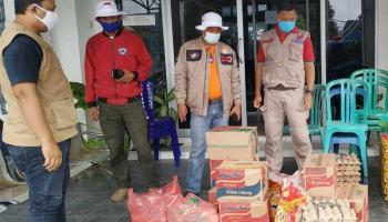 Peduli Korban Banjir, Relawan Simpul Babel Bersama Dinsos Bangka Galang Bantuan Logistik
