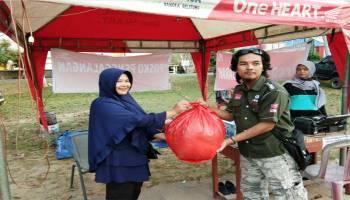 Peduli Korban Gempa, Kumpulan Komunitas Bangka Barat Gelar Penggalangan Dana
