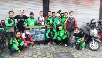 Peduli Korban Gempa Lombok, Ojek Online Pangkalpinang Galang Dana