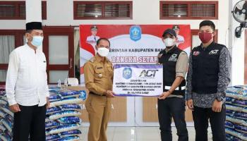 Peduli Korban Gempa Sulawesi Barat, Pemkab Bangka Salurkan 1 Ton Beras