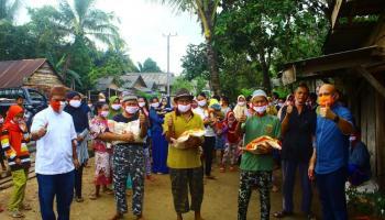 Peduli Masyarakat di Tengah Pandemi, Didit Srigusjaya Kambali Salurkan Bantuan Bagi Warga Membutuhkan