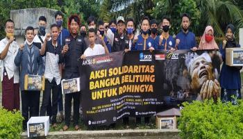 Peduli Rohingya, MRI Bangka Kumpulkan Donasi Rp 23, 4 Juta
