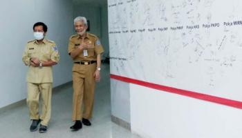 Pejabat Lingkup Pemprov Babel Lakukan Pemeriksaan Kesehatan di RSUP Soekarno