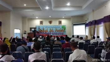 Pelabuhan Perikanan Nusantara Sungailiat Gelar Halalbihalal Bersama Pensiunan Karyawan