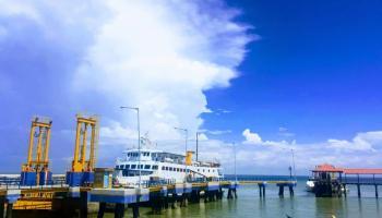 Pelabuhan Tanjung Kalian Tertutup Bagi Penumpang Kapal