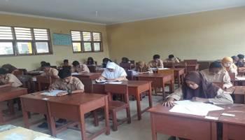 Pelaksanaan USBK di Kabupaten Bangka Tengah Berjalan dengan Tertib