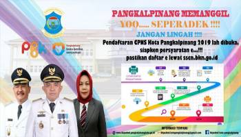 Pelamar CPNS di Kota Pangkalpinang Capai 1.684 Orang