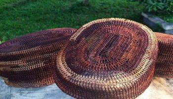 Pemdes Kacung Mempertahankan Tradisi Kerajinan Resam