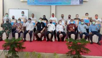 Pemkab Bangka Berikan Penghargaan Kepada 11 Desa Taat Pajak