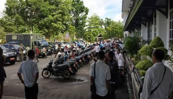 Pemkab Bangka Cek Fisik Ratusan Kendaraan Dinas