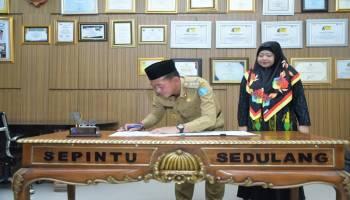 Pemkab Bangka Jalin MoU dengan Pertiba Untuk Tingkatkan Kualitas SDM