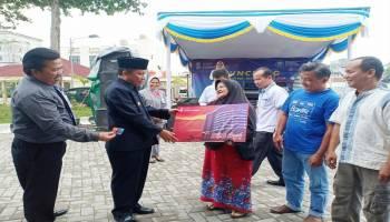 Pemkab Bangka Launching Retribusi Pasar Non-Tunai dengan BSB Cash