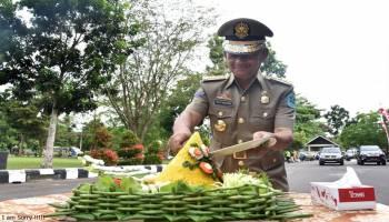 Pemkab Bangka Peringati HUT Satpol PP, Linmas dan Damkar