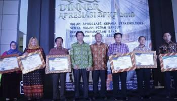 Pemkab Bangka Raih Penghargaan Tata Kelola Empat Kategori Sekaligus