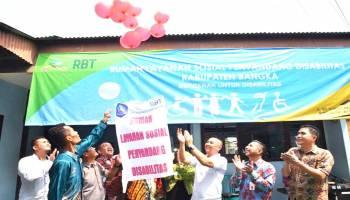 Pemkab Bangka Resmikan Rumah Layanan Sosial Bagi Disabilitas