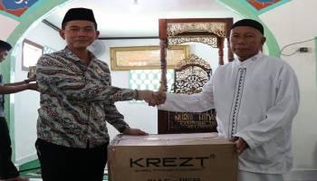 Pemkab Bangka Serahkan Bantuan Wireless ke Masjid Nurul Hidayah
