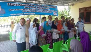 Pemkab Bangka Tengah Gelar Pasar Murah Daging di Desa Terak
