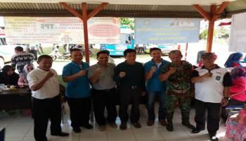 Pemkab Bangka Tengah Gelar Pelayanan Terpadu Gratis di Desa Mangkol