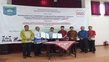 Pemkab Bangka Tengah Jalin Kerja Sama dengan ANSA Kembangkan Penerapan Teknologi MA11