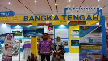 Pemkab Bangka Tengah Pamerkan Produk Unggulan di Pameran APKASI Expo 2019
