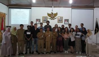 Pemkab Bangka Terima 10 Mahasiswa Asing AIESEC