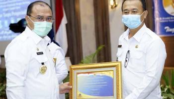 Pemkab Bangka Terima Penghargaan WTP Empat Kali Berturut