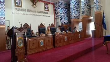 Pemkot dan DPRD Kota Pangkalpinang Tandatangani Nota Kesepakatan KUAPBD dan PPAS-APBD Tahun 2020