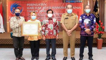 Pemkot Pangkalpinang Raih Penghargaan Peduli HAM 2019