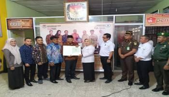 Pemkot Serahkan Aset kepada KPU Kota Pangkalpinang
