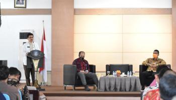 Pemprov Babel Buka Rapat Penyampaian Pedoman Umum Penyusunan APBD 2021