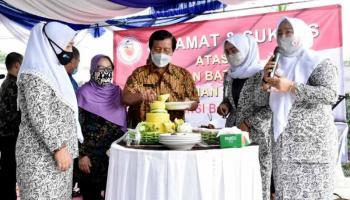 Pemprov Babel Dukung Pembangunan Gedung Sekretariat Ikatan Bidan Indonesia Babel