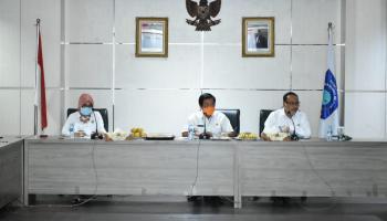 Pemprov Babel Lakukan Rapat Pemeriksaan Atas Percepatan Penanggulangan Covid-19