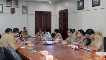 Pemprov Babel Lakukan Rapat Persiapan Kunjungan Menteri PPN/Bappenas