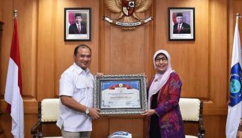 Pemprov Bangka Belitung Terima Penghargaan dari Badan Pusat Statistik