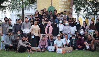 Pemuda NgeGAS Gelar Aksi Galang Dana Biaya Operasi Zaidah Attaqiyah