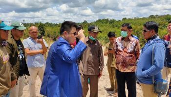Penanggung Jawab CV SBM Lagi di Lampung, Wendy : Entah Benar Tidaknya Kita Tidak Tau