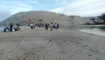 Pendangkalan Alur Muara Air Kantung Kembali Terjadi, Hasanuddin Nilai Keberadaan PT. Pulomas Sentosa Tidak Membantu