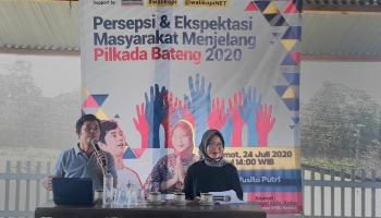 Peneliti Demokrasi dan Pemilu, Ranto : Hasil Survei Pra Pilkada Bateng 2020 Paslon Didit-Korari Unggul Jauh