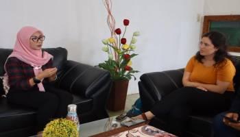 Peneliti Norwegia Temui Melati Erzaldi, Tanya Tentang Aktivitas PKK Babel
