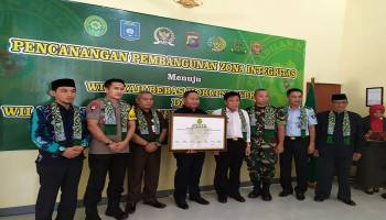 Pengadilan Negeri Koba Deklarasi Zona Integritas WBK dan WBBM Bangka Tengah