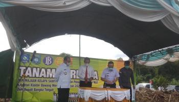 Pengembangan Budidaya Bawang Merah, Pemkab Bateng Jalin MoU Dengan Bank Indonesia