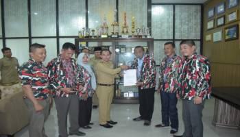 Pengurus Macab LMP Kabupaten Bangka Silaturahmi Dengan Bupati Bangka