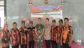 Pengurus MPC Pemuda Pancasila Kabupaten Bangka Siap Mendukung Pakta Integritas Polres Bangka