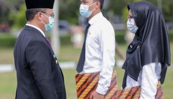 Penyerahan SK CPNS, Gubernur Erzaldi Tekankan Pentingnya Reformasi Birokrasi