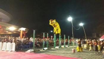 Perayaan Cap Go Meh di Puri Tri Agung Berlangsung Meriah