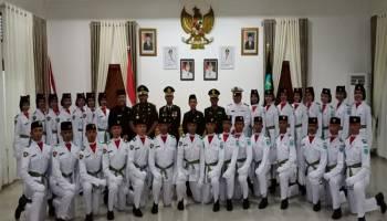 Perdana, Upacara HUT RI Dilaksanakan di Halaman Kantor Bupati Bangka